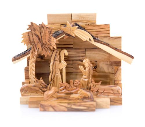 Medium Olive Wood Nativity