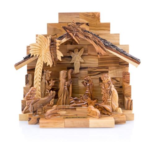 Large Olive Wood Nativity