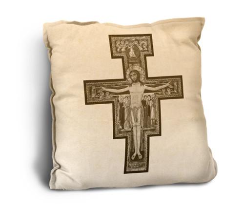 San Damiano Rustic Pillow