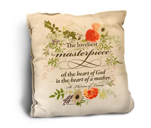 The Loveliest Masterpiece Rustic Pillow