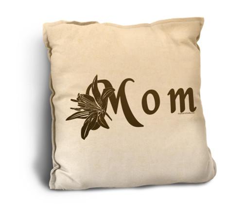 Mom Rustic Pillow