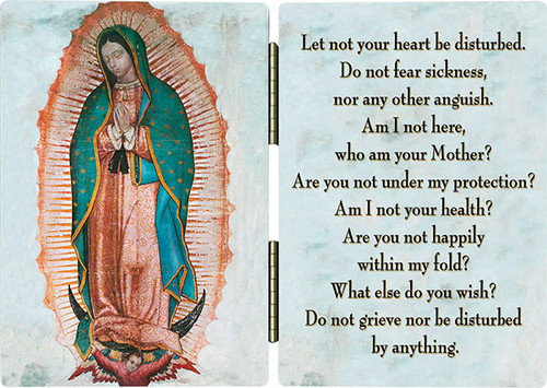 Our Lady of Guadalupe Diptych