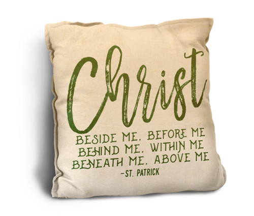 Christ Rustic Pillow