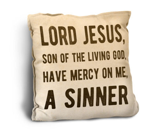 Have Mercy Rustic Pillow