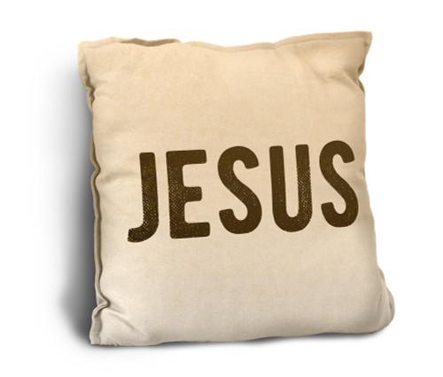 Jesus Rustic Pillow