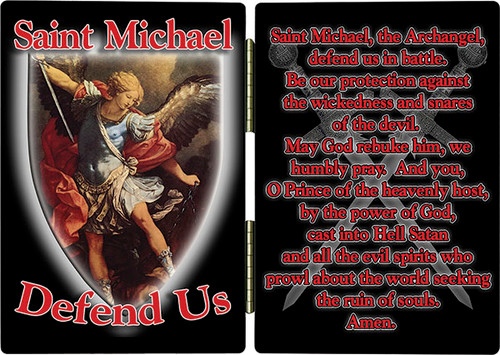 St. Michael Defend Us Diptych