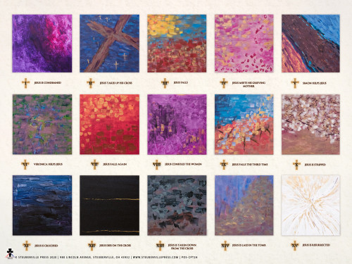 Meditations on the Passion of Christ Poster