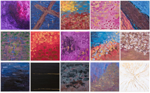 Meditations on the Passion of Christ Prints (Set of 15)