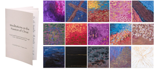 Meditations on the Passion of Christ Prints (Set of 15) with Booklet