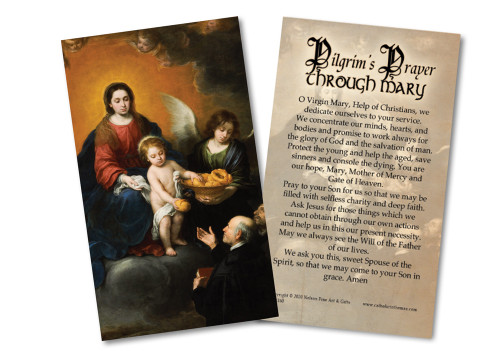 Pilgrim's Prayer Holy Card