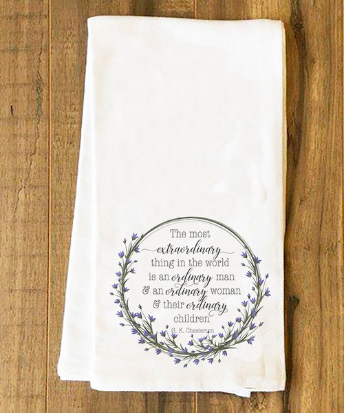 Ordinary Family Tea Towel