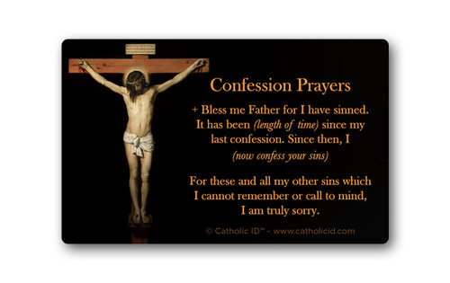 Confession Cards