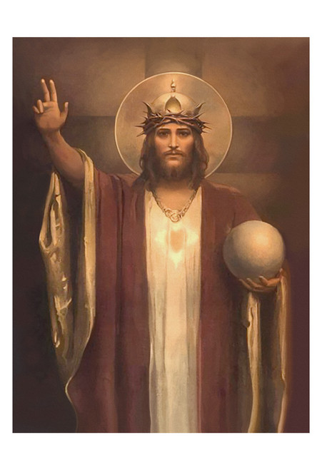 Christ the King by Chambers Restored Print