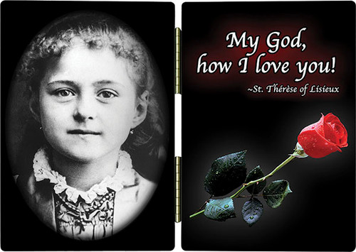 St. Therese (Child) Diptych