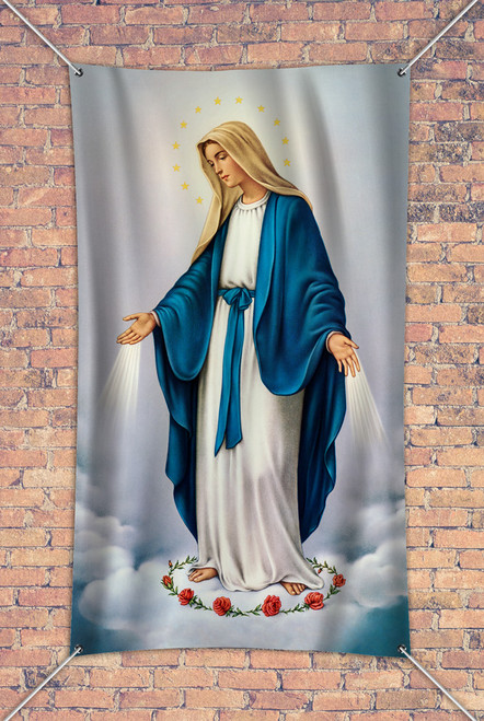 Our Lady of Grace Outdoor Vinyl Banner