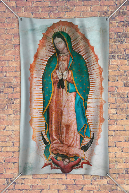 Our Lady of Guadalupe Outdoor Vinyl Banner