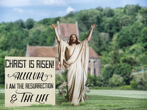 Resurrection Outdoor Lifesize Display