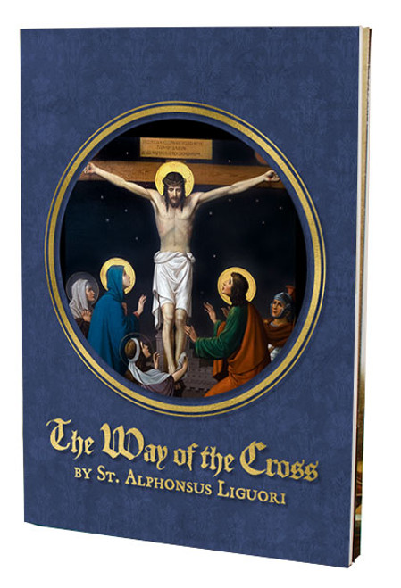 The Way of the Cross St. Alphonsus Liguori Stations Book (Large Print)