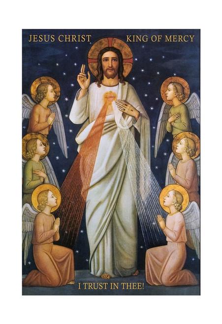 King of Divine Mercy Print