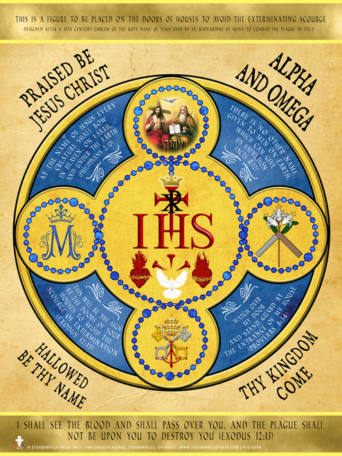 Holy Name Emblem Poster
