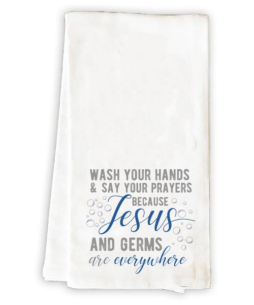Wash Your Hands Tea Towel