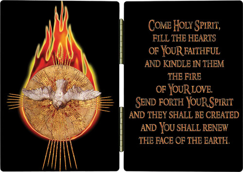 Holy Spirit Fire Diptych