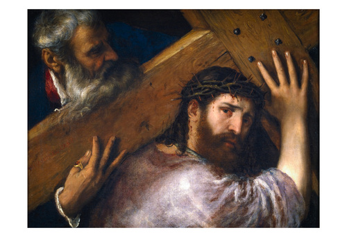 Christ Carrying the Cross by Titian Print