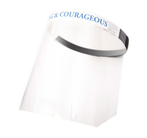 Box of 12 Face Shields with Assorted Messages of Hope