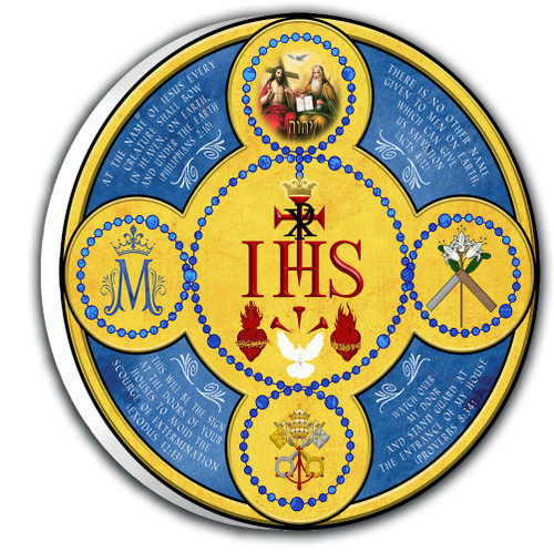 Holy Name Emblem Outdoor Plaque