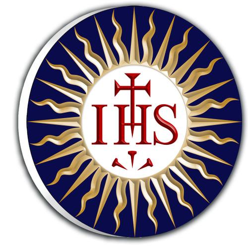 IHS Emblem Outdoor Plaque