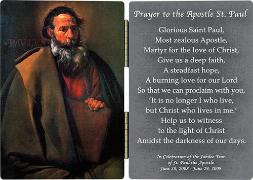St. Paul by Velazquez Diptych