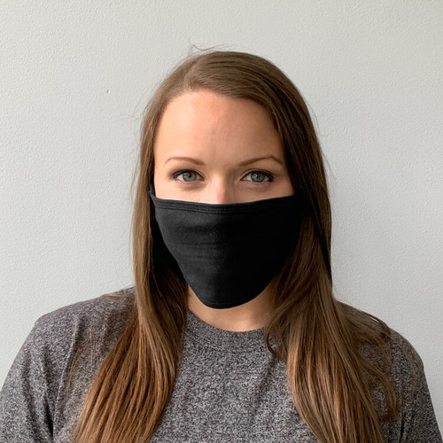 Soft Cotton Face Masks with Ear Loops