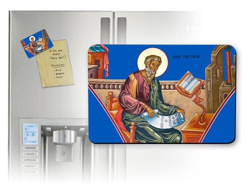 St. Matthew Horizontal Magnet