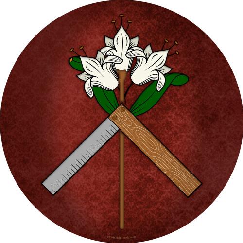 St. Joseph Symbol Emblem Decal