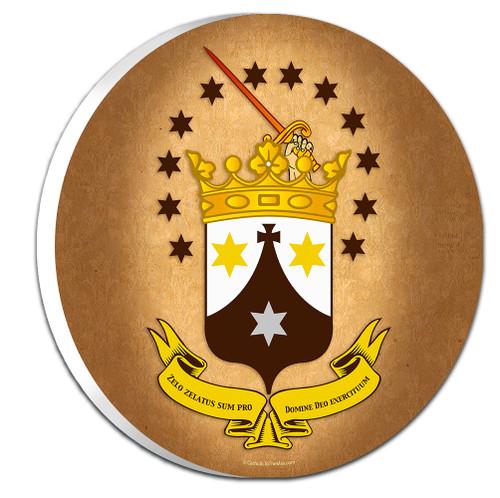 Discalced Carmelite Emblem Outdoor Plaque