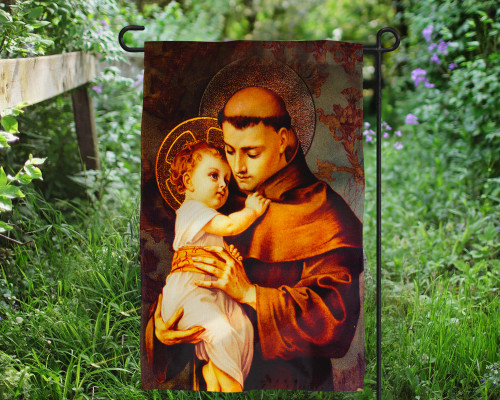 St. Anthony Outdoor Garden Flag