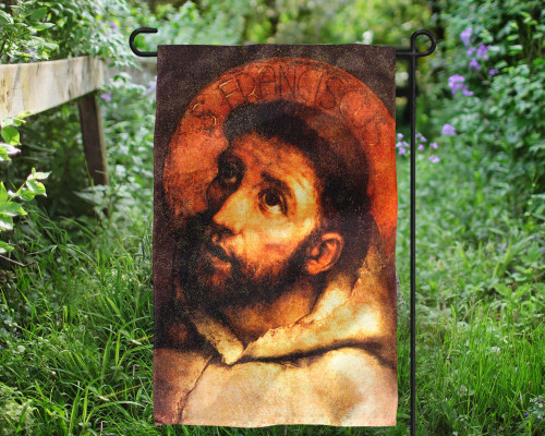 St. Francis Outdoor Garden Flag