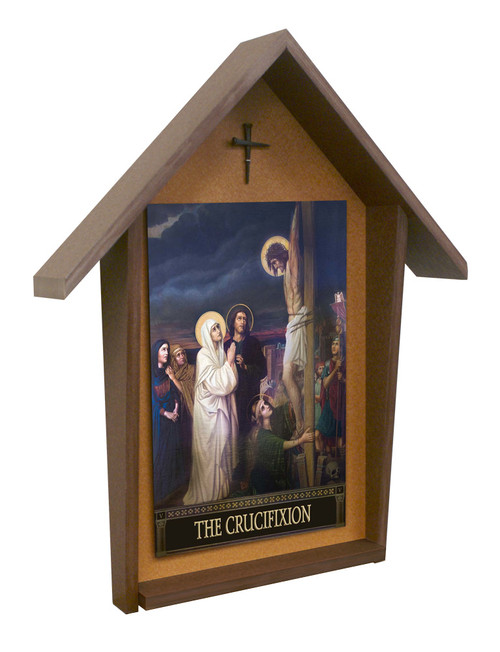 The Seven Sorrows of Mary Deluxe Poly Wood Outdoor Shrine (Set of 7)