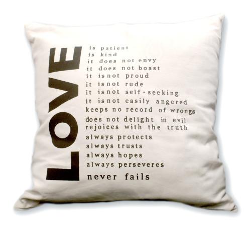 Love Home Decor Pillow Case