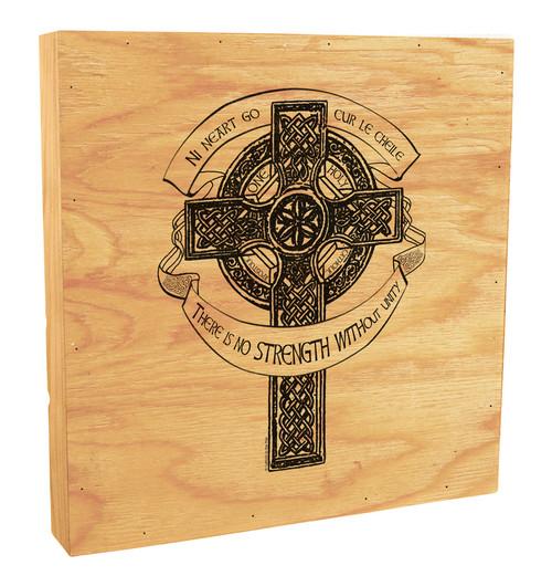 Celtic Cross Rustic Box Art
