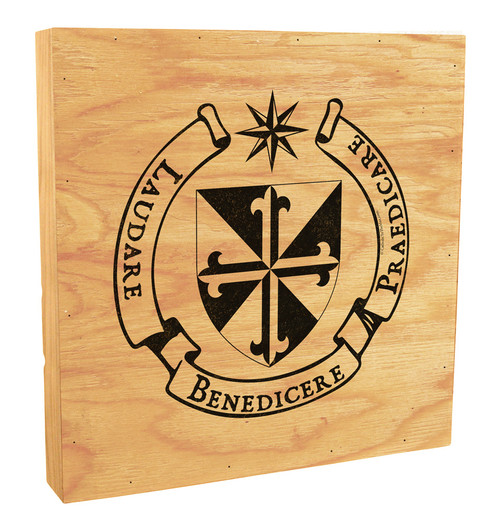Dominican Crest Rustic Box Art