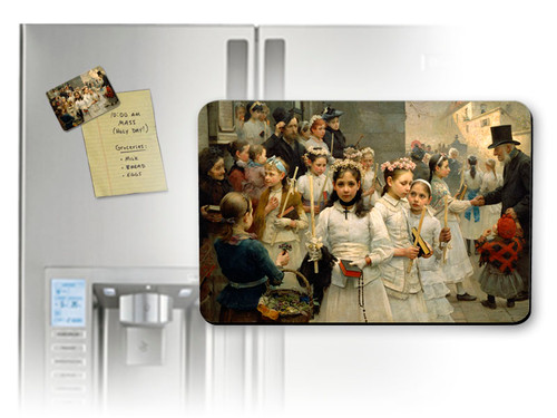 After the First Holy Communion Magnet