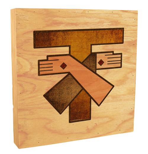 Franciscan Crest Rustic Box Art