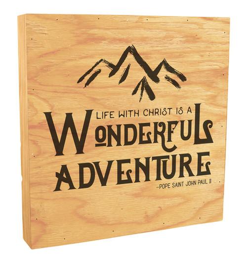 Wonderful Adventure Rustic Box Art