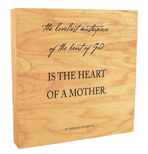 """The Loveliest Masterpiece"" Rustic Box Art"