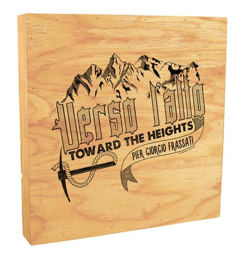 """Verso L'alto"" Rustic Box Art"