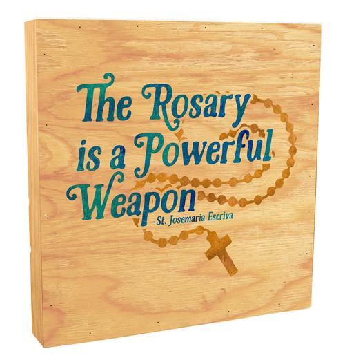 """""""The Rosary"""" Rustic Box Art"""
