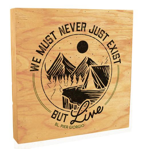 """""""Live"""" Rustic Box Art"""