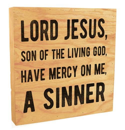 Sinner's Prayer Rustic Box Art