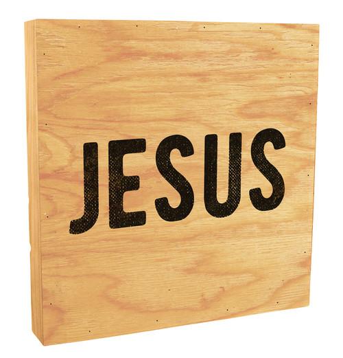 Jesus Rustic Box Art